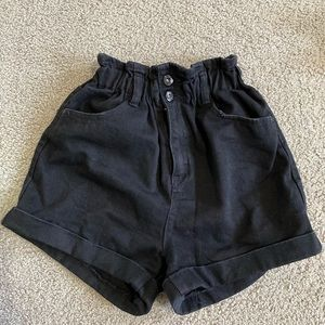 black shorts with buttons and zip from jay jays